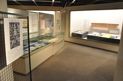 写真:展示室風景