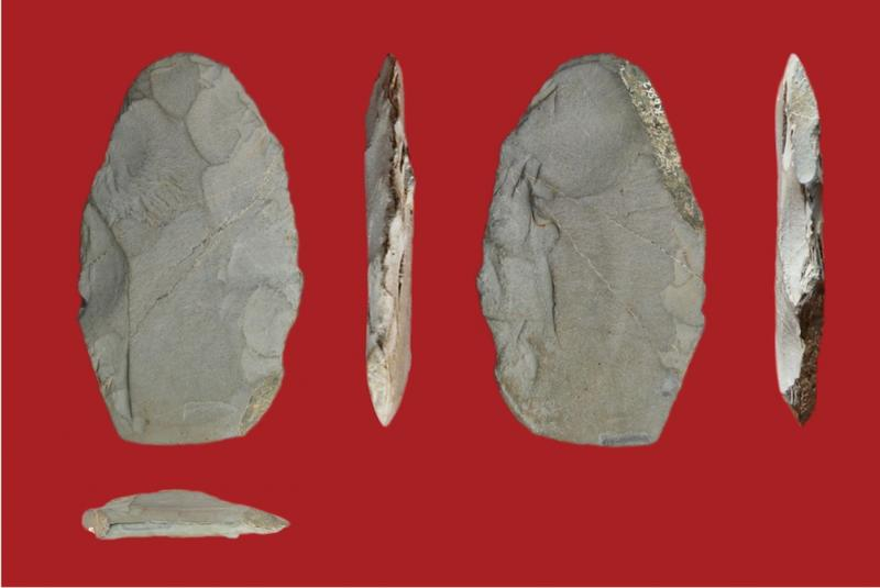 風早遺跡の局部磨製石斧