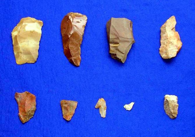 慈恩寺原北遺跡の旧石器