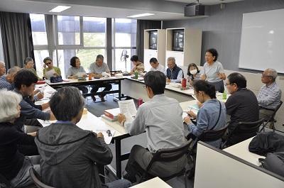 写真:勉強会の風景