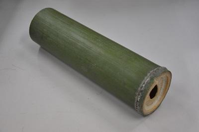 写真:市民の方がつくった竹貝