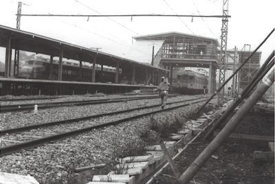 建設中の北春日部駅