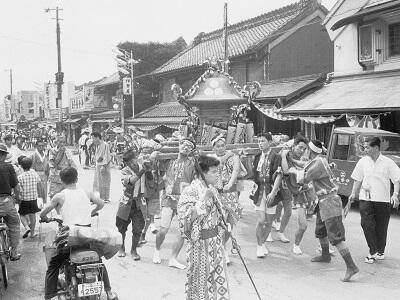 写真:昭和37年夏まつり