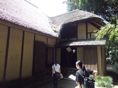 写真:宮代町郷土資料館の加藤家住宅