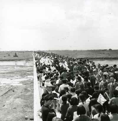 写真:昭和33年の橋開き