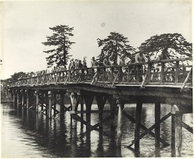 写真:昭和17~18年藤塚橋