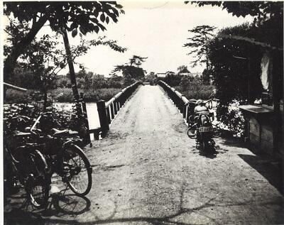 写真:昭和25年ごろ藤塚橋
