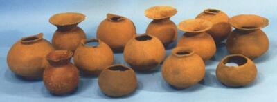 権現山遺跡の底部穿孔壺形土器