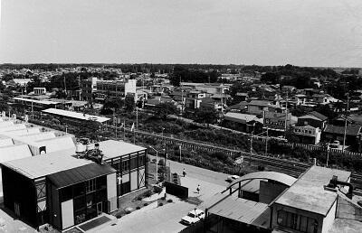 写真:昭和49年南桜井駅南側