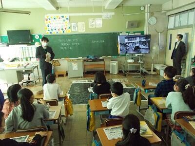 南桜井小出張授業風景