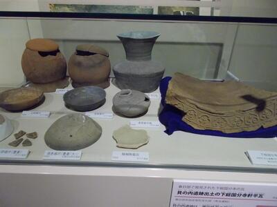 古代の展示ケース