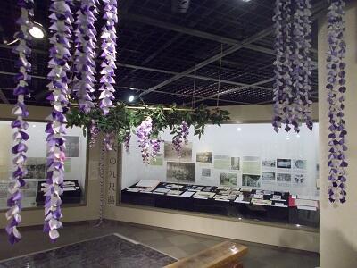 写真:展示室の入り口