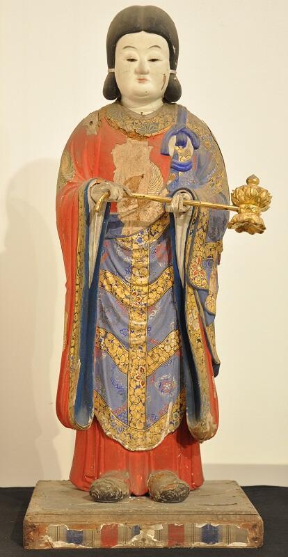 写真:聖徳太子立像