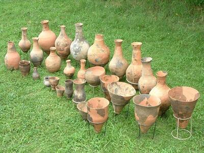 須釜遺跡の土器