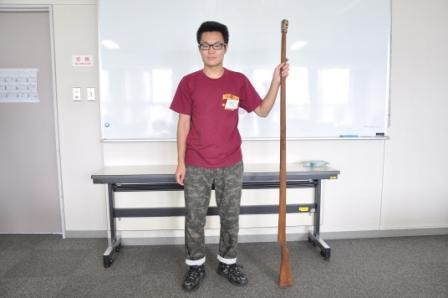 銃剣と実習生