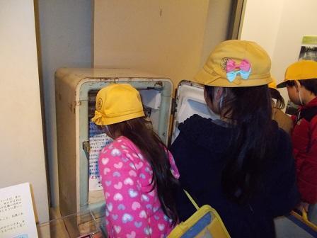 電気冷蔵庫の見学