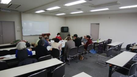 古文書勉強会の風景
