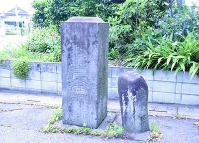関宿道の道しるべ