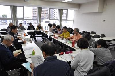 写真:勉強会の様子