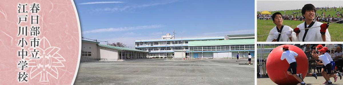 春日部市立江戸川小中学校