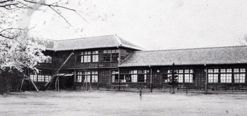 明治37年に新築された校舎