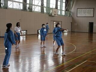 1年1、2組 保健体育 バレーボール