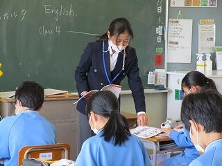 1年4組 英語 授業開き