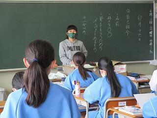 1年2組 国語 授業開き