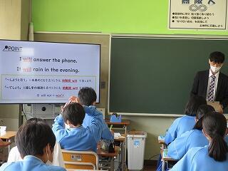 2年3組 英語 Lesson1