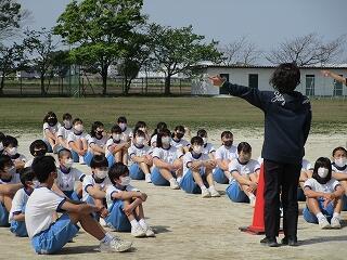 2年2組 保健体育 いよいよ体育祭の練習が始まりました