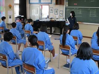 3年2組 音楽 授業開き