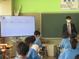 2年3組 英語 When~の学習