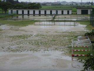 今日は台風の接近による雨で、外部活はありませんでした
