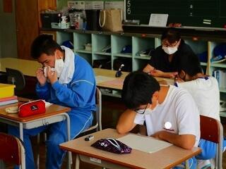 5、6組 課題別学習 みんなよくがんばっています