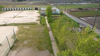 田んぼにも水が張られました
