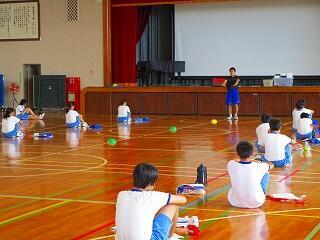 3年2,3組 保健体育 体力テストの練習