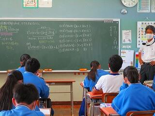 3年1組 数学 因数分解 和と積