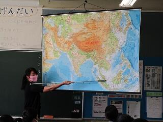 1年1組 社会 地理 東南アジア