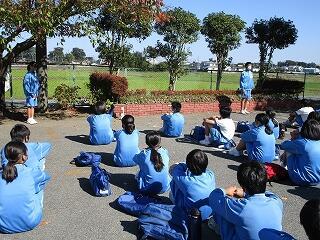 帰校式でも実行委員の生徒達は立派でした