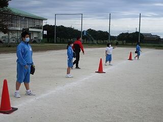 5、6組 保健体育 ソフトボール