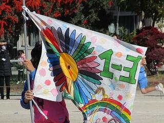 1年3組 学級旗