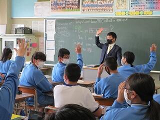 1年2組 英語 Canの学習