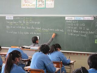 3年1組 英語 lesson5A