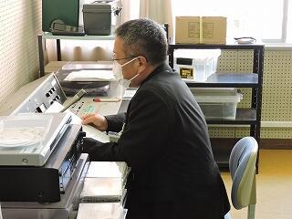 放送による2学期終業式 校長式辞