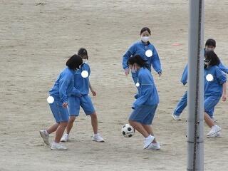3年3組 保健体育 サッカー