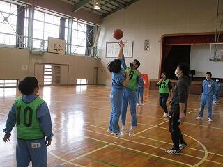 5、6組 保健体育 バスケットボール