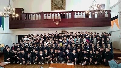 富岡第一中学校・富岡第二中学校QR